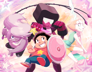 FF: We are the Crystal Gems by Seyumei