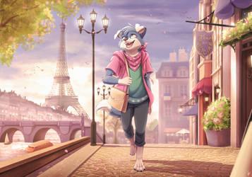 Com: Rues de la Ville by Seyumei