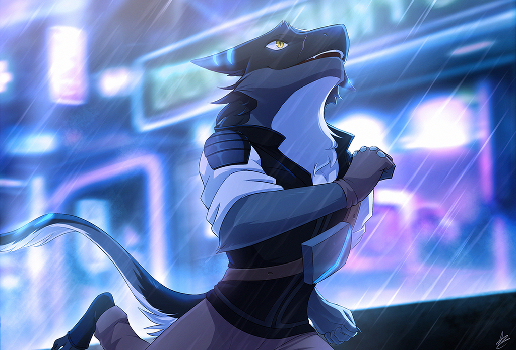 Com: A Neon Night Run by Seyumei
