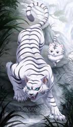 Com: Kohaku the White Tiger