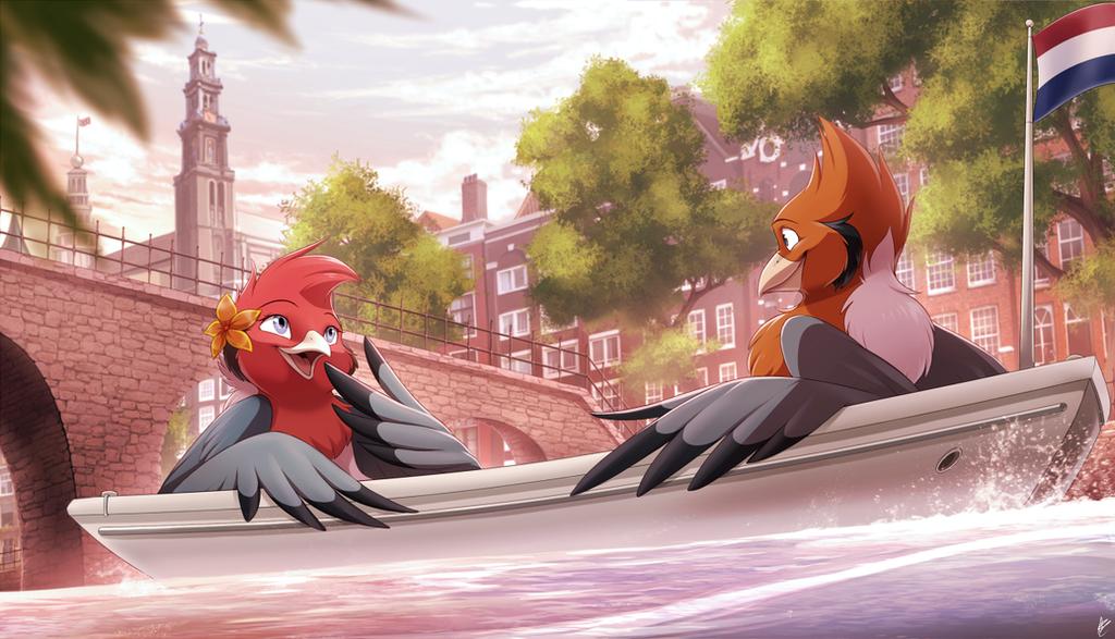 Com: Lovebird Canal Ride by Seyumei