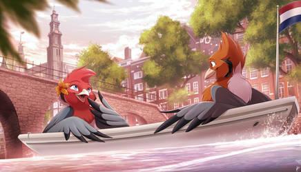 Com: Lovebird Canal Ride