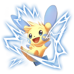 Minun used Spark! by Seyumei