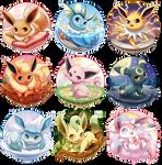 Eeveelutions Series Complete!
