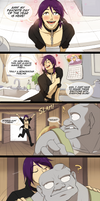 Mini Comic: Kissy Kissy by Seyumei