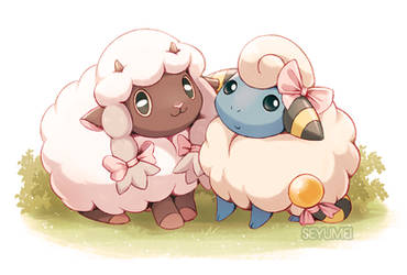 Sheep Sisters by Seyumei