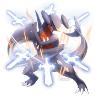 Garchomp Used Sword Dance!