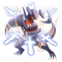 Garchomp Used Sword Dance! by Seyumei