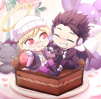 Com: Cakes and Plushies