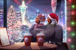 Com: Christmas in Seattle by Seyumei