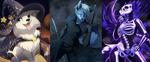 Com: Halloween Portraits by Seyumei
