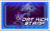 DAT KICK IN DA FACE STAMP by AceofspadesTH