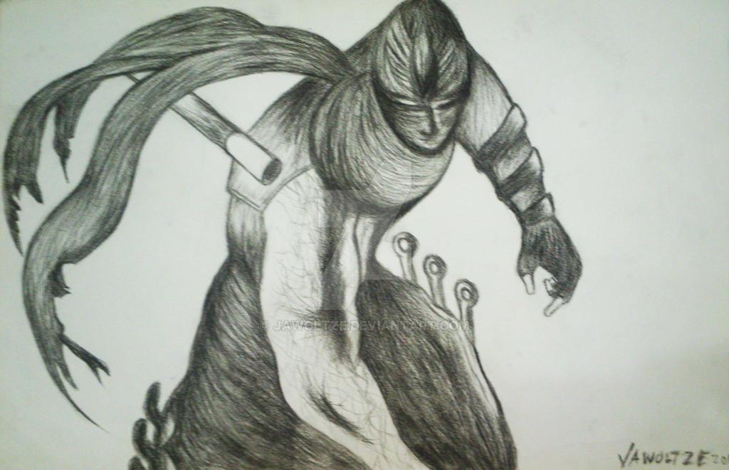 Ryu Hayabusa of Ninja Gaiden by jawoltze