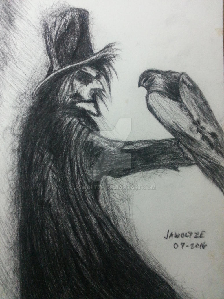 The Crow by jawoltze