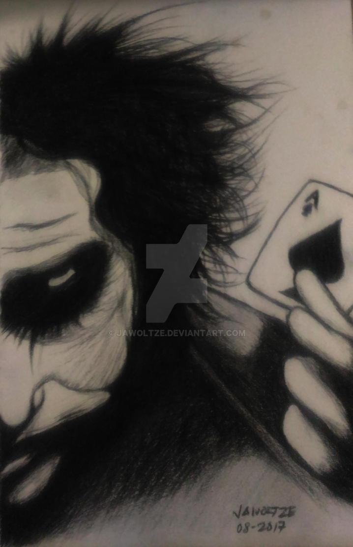 The Darkest Joker by jawoltze