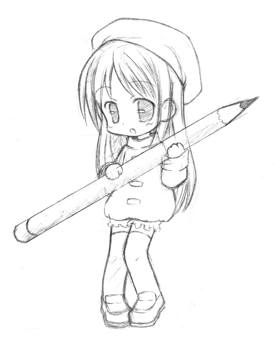 how to draw manga child