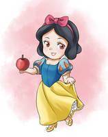 Chibi Snow White by CatPlus