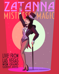 Zatanna, Mistress of Magic by johnblackofficial