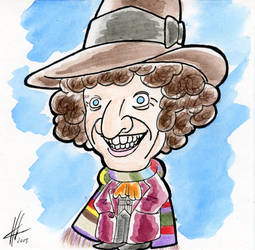 The 4th Doctor- 2015 by shirowwolf