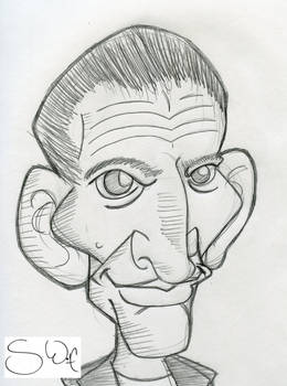 9th Doctor Caricature, 2020