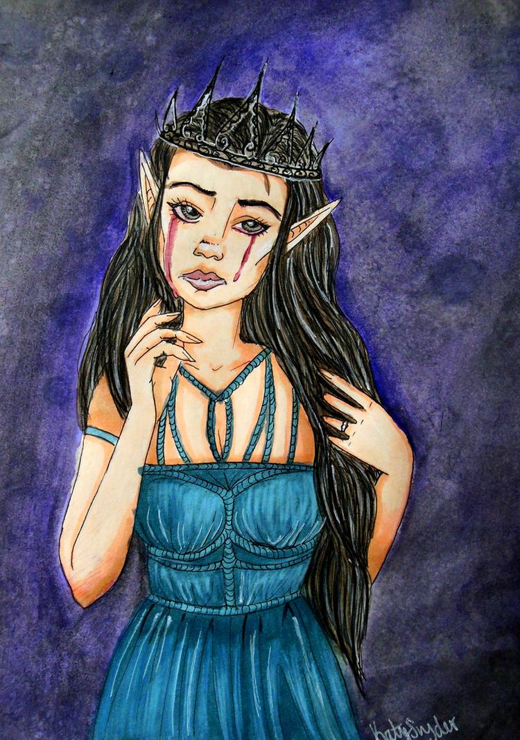Queen of Arainnia by Floraella
