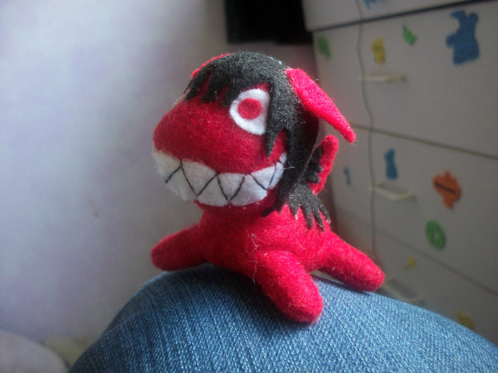 A Small Smiledog Plush By Cortpea On DeviantArt