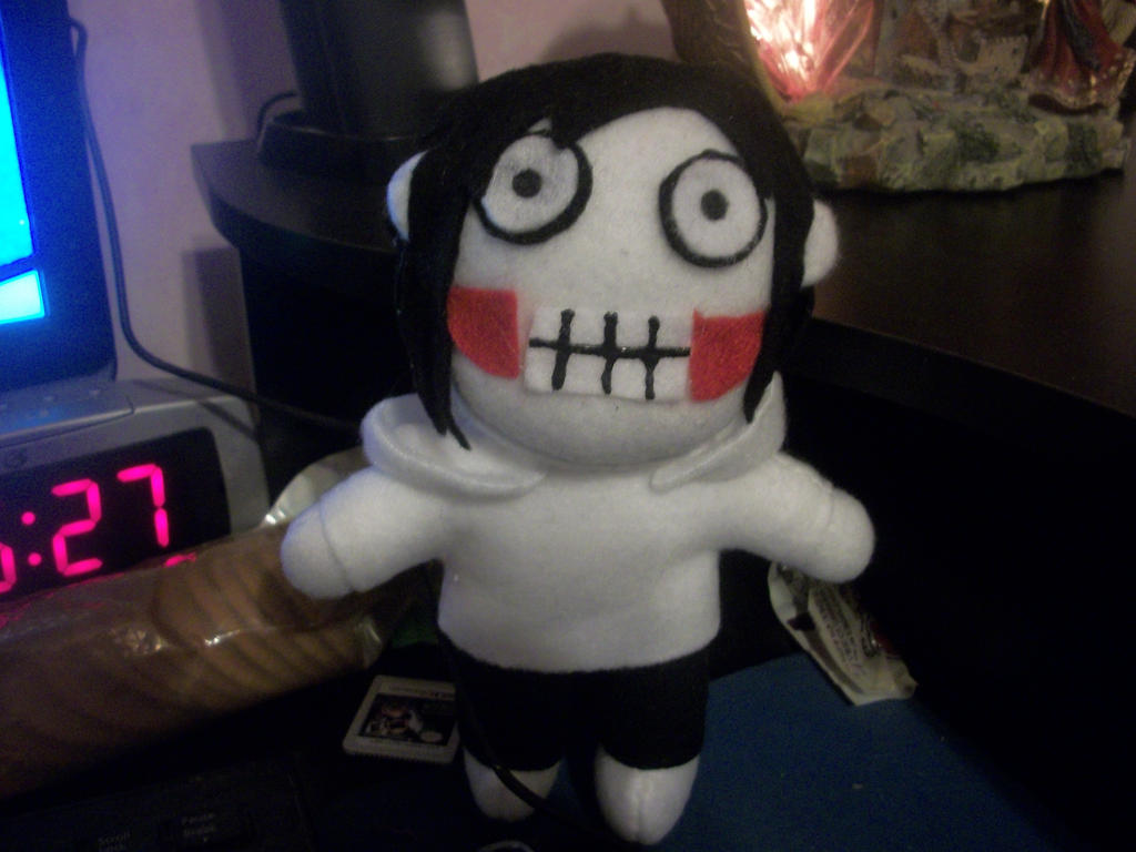 Jeff The Killer Chibi Plushie By Cortpea On DeviantArt