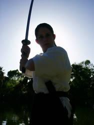 Dark Shadowed Warrior