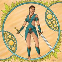 Rose or Sword by JNLN