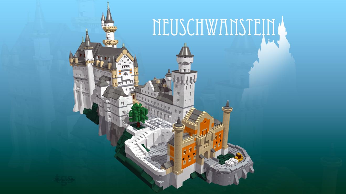 Neuschwanstein Model by JNLN