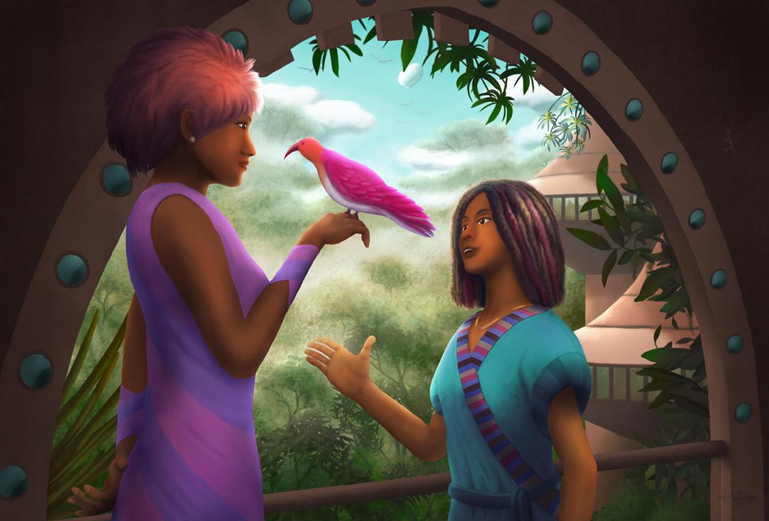 Jungle Bird by JNLN