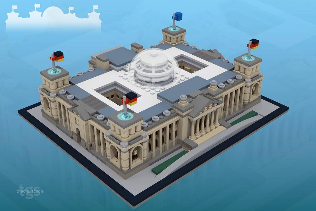 Reichstag Building Berlin by JNLN
