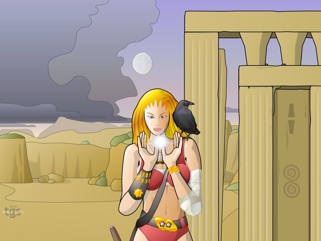 Rhona's Raven by JNLN