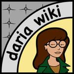 Daria wiki logo design