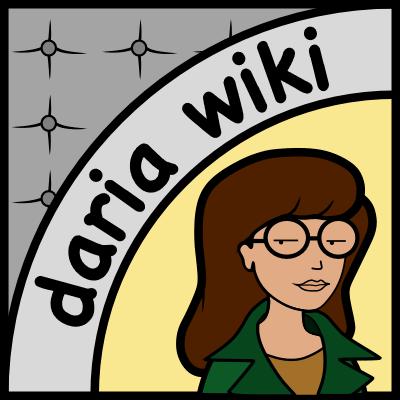 Daria wiki logo design by JNLN