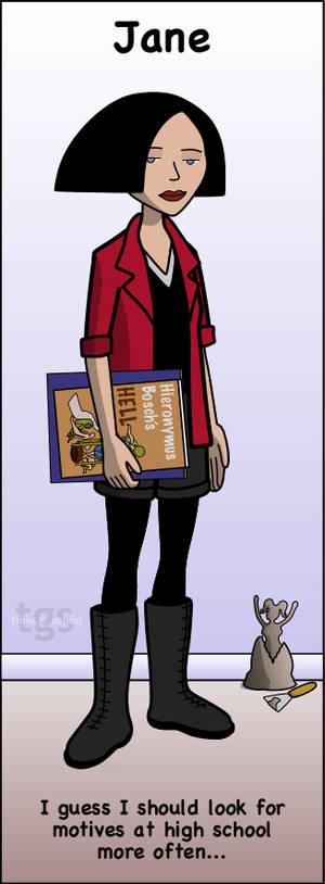 Jane bookmark