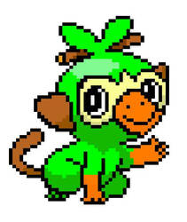 Grookey by TheLonelySpringtrap