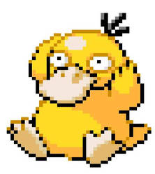 Psyduck by TheLonelySpringtrap