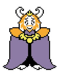 Asgore by TheLonelySpringtrap