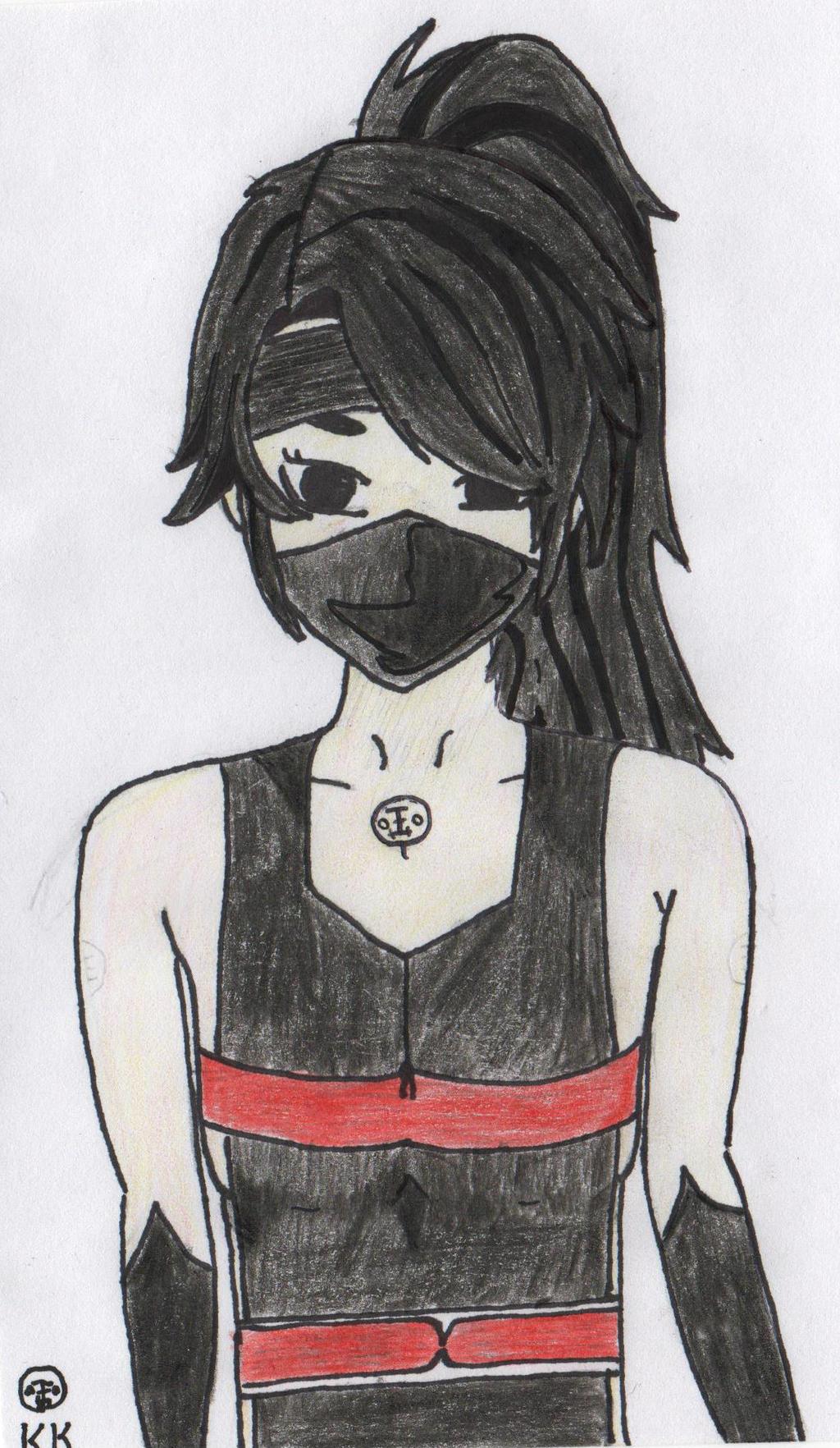 RWBY OC Character: Kurayami Kita (Kita Kurayami) by TeamGRAE