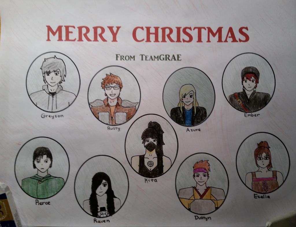 Christmas OCs by TeamGRAE