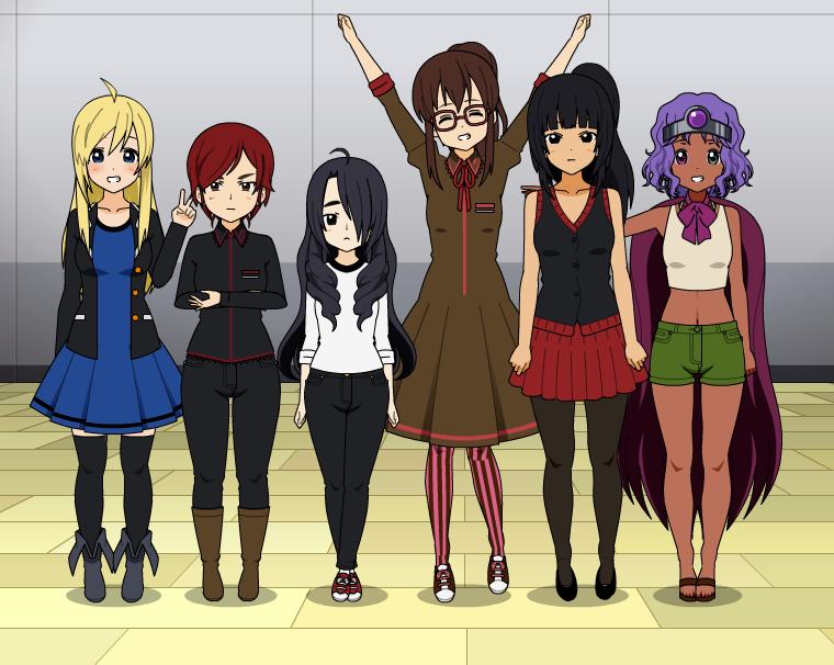 Girls of Twilight Crusade (Redo) by TeamGRAE