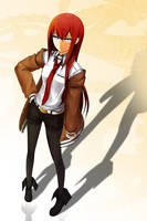 Makise Kurisu [Steins Gate] by kishiro-kun