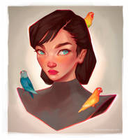 Lady Bird by RocioRodriguez