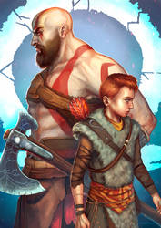 God of War for Games Tribune by RocioRodriguez