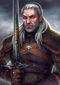 Geralt of Rivia fanart