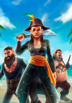 Art Cover for Games Tribune