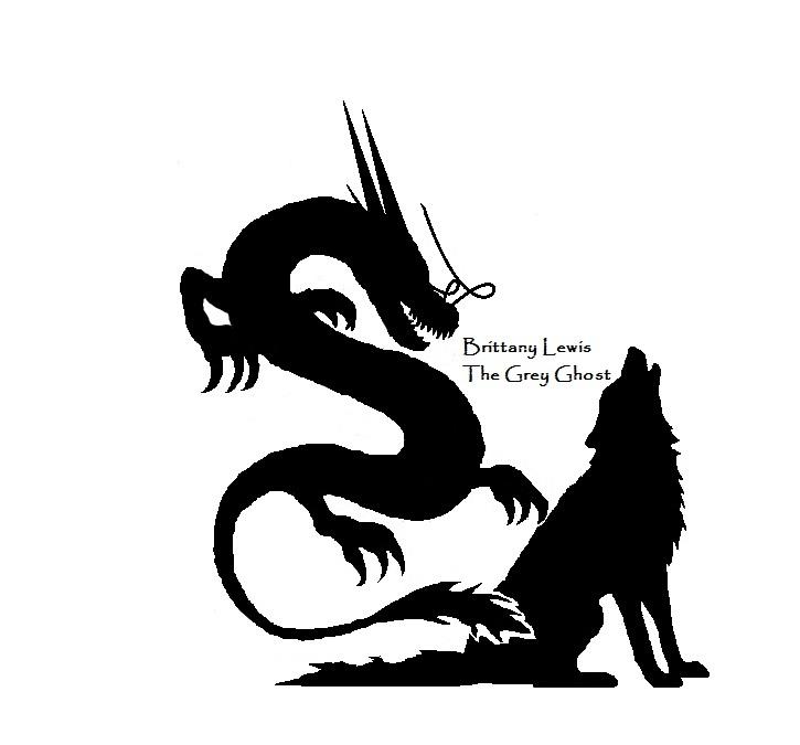 dragon wolf silhouette tattoo by artistgreyghost on deviantart. Black Bedroom Furniture Sets. Home Design Ideas