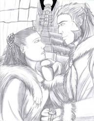 Adiish and Zhaoenku by Dragon-Autobot