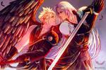 Cloud | Sephiroth